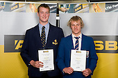 Boys Water Polo finalists Richard Small & Thomas Kearns. ASB College Sport Young Sportperson of the Year Awards 2008 held at Eden Park, Auckland, on Thursday November 13th, 2008.