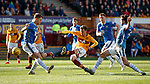 30.03.2019 Motherwell v St Johnstone: Elliott Frear scores the opening goal for Motherwell
