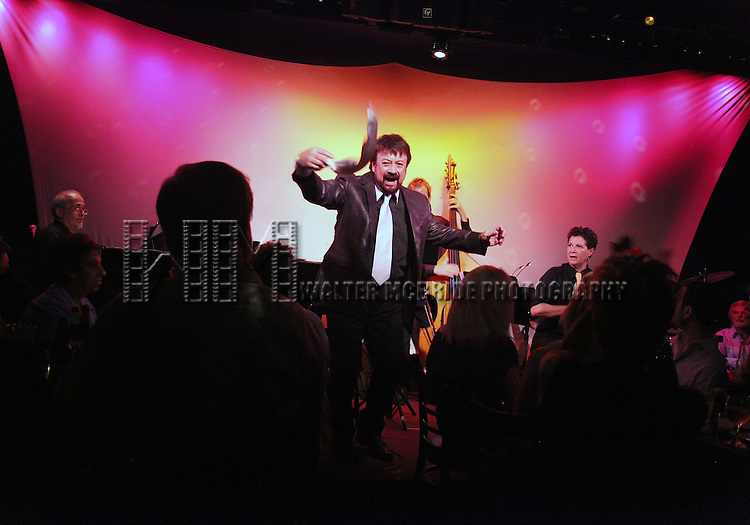Joey Infante performs 'Babalu' at the Metropolitan Room in New York City.