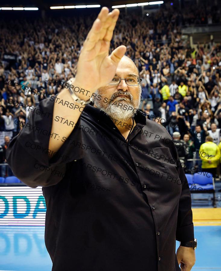 Kosarka ABA League season 2016-2017<br /> Play-Off second match<br /> Partizan v Cedevita<br /> Head coach Aleksandar Dzikic<br /> Beograd, 25.03.2017<br /> foto: Srdjan Stevanovic/Starsportphoto &copy;