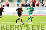 Park captain Adam Ward in action against Killarney Celtic in the Youths Cup Final on Sunday