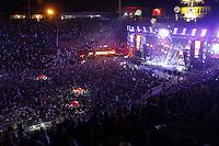 BARRETOS,SP, 22.08.2015 - BARRETOS-SHOW - O cantor Wesley Safadão durante apresentação na 60ª edição da Festa do Peão de Boiadeiro de Barretos, no interior de São Paulo, na noite de ontem (21). (Foto: Paduardo/Brazil Photo Press)