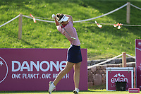 Sarah Jane Smith (AUS) tees off the 6th tee during Thursday's Round 1 of The Evian Championship 2018, held at the Evian Resort Golf Club, Evian-les-Bains, France. 13th September 2018.<br /> Picture: Eoin Clarke | Golffile<br /> <br /> <br /> All photos usage must carry mandatory copyright credit (© Golffile | Eoin Clarke)