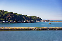 Fishguard Port, Pembrokeshire, Wales, UK
