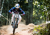 Picture by Alex Broadway/SWpix.com - 10/09/17 - Cycling - UCI 2017 Mountain Bike World Championships - Downhill - Cairns, Australia - Loïc Bruni of France competes in the Men's Elite Downhill Final.