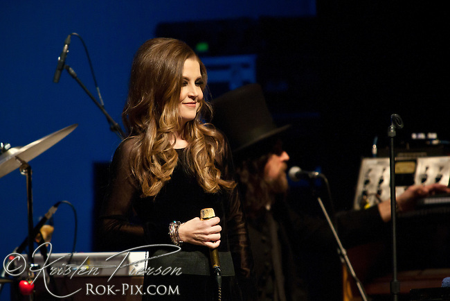 Lisa Marie Presley performed at the historic Park Theatre in Cranston on November 23, 2013.