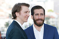 "Paul Dano and Jake Gyllenhaal at the ""Okja"" photocall during the 70th Cannes Film Festival at the Palais des Festivals on May 19, 2017 in Cannes, France. Credit: John Rasimus /MediaPunch ***FOR USA ONLY***"