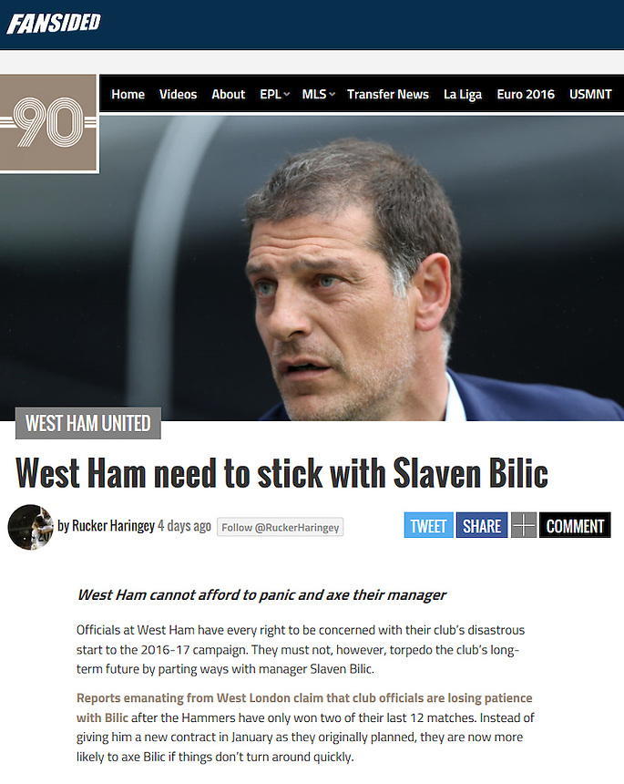 http://playingfor90.com/2016/09/19/west-ham-need-stick-slaven-bilic/