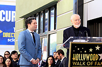 LOS ANGELES - JAN 22:  Gustavo Dudamel, John Williams at the Gustavo Dudamel Star Ceremony on the Hollywood Walk of Fame on January 22, 2019 in Los Angeles, CA