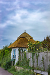 Small thatched building at Dell Quay in West Sussex, England