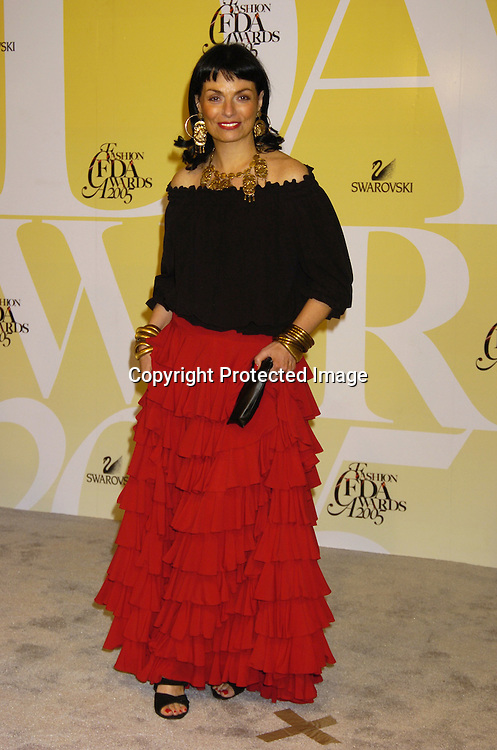 Norma Kamali ..at the 2005 CFDA Fashion Awards on June 6, 2005 at ..the New York Public Library. ..Photo by Robin Platzer, Twin Images