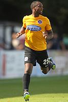 Gavin Hoyte of Dagenham during Boreham Wood vs Dagenham & Redbridge, Vanarama National League Football at Meadow Park on 4th August 2018