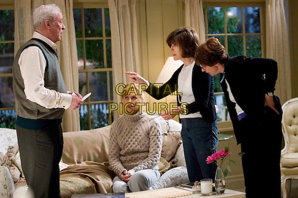MICHAEL CAINE, NICOLE KIDMAN & NORA EPHRON (Director/writer).on the set of Bewitched (2005).*Filmstill - Editorial Use Only*.CAP/AWFF.Supplied by Capital Pictures.