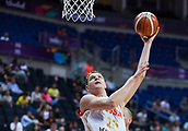 7th September 2017, Fenerbahce Arena, Istanbul, Turkey; FIBA Eurobasket Group D; Russia versus Great Britain; Center Timofey Mozgov #15 of Russia with a sky-hook under the basket