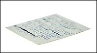 BNPS.co.uk (01202 558833)<br /> Pic:   Bonhams/BNPS<br /> <br /> Original handwritten lyrics for a little-known song John Lennon wrote at the start of Beatlemania are tipped to sell for a whopping £120,000.<br /> <br /> The song, called I'm In Love, was never released by the Beatles and instead was given to Merseybeat band The Fourmost to record in 1963.<br /> <br /> The words are written in blue ink over 15 lines on a single sheet of A4 paper.<br /> <br /> It has been in the hands of a private collector for more than 30 years.
