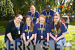 Festival Volunteers at the Funin the Park on Friday Pictured Front left to right, Georgina O'Reilly, Kerry O'Leary, Leona O'Shea, Marie Dunne.  Back left to right, Carl Johnson, Adewale Obadina