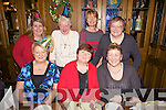 Duagh ladies enjoying a Christmas dinner last Saturday night in Leen's Hotel, Abbeyfeale last Saturday night. F l-r: Doreen McEnery, Maureen McAuliffe, Nora Walsh. B l-r: Katrina Dillon, Peg Collins, Nuala Sheehy and Mary Byrne.