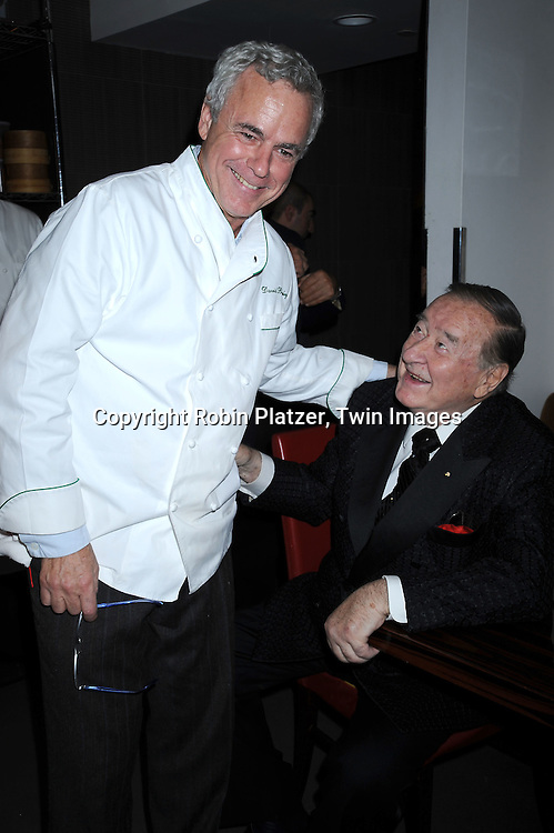 chef David Bouley and Sirio Maccioni