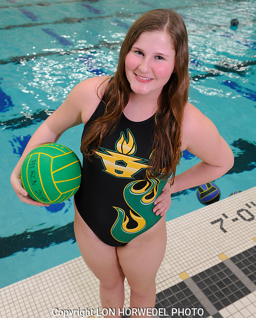 Huron High School girl's water polo team.Huron High School girl's water polo team.