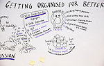"BRUSSELS - BELGIUM - 23 November 2016 -- European Training Foundation (ETF) Conference on ""GETTING ORGANISED FOR BETTER QUALIFICATIONS"". -- Illustrations by Carolina Chapple. -- PHOTO: Juha ROININEN / EUP-IMAGES"