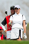 CHON BURI, THAILAND - FEBRUARY 16:  Belen Mozo of Spain prepares to tees off on the 16th hole during day one of the LPGA Thailand at Siam Country Club on February 16, 2012 in Chon Buri, Thailand.  Photo by Victor Fraile / The Power of Sport Images