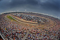 May 2, 2009; Richmond, VA, USA; General view as NASCAR Sprint Cup Series drivers race during the Russ Friedman 400 at the Richmond International Raceway. Mandatory Credit: Mark J. Rebilas-