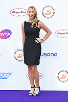 Anett Kontaveit<br /> arriving for the Tennis on the Thames WTA event in Bernie Spain Gardens, South Bank, London<br /> <br /> ©Ash Knotek  D3412  28/06/2018