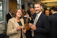 Pam Wright, deputy Agent for Bank of England is pictured with Andrew Wright of Potter Clarkson