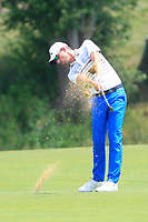 Alexander Bjork (SWE) on the 1st fairway during Round 4 of the HNA Open De France at Le Golf National in Saint-Quentin-En-Yvelines, Paris, France on Sunday 1st July 2018.<br /> Picture:  Thos Caffrey | Golffile