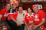 Vince Rooney, Jacqui Shelly, Martin Hanratty, Paula Briscoe and Paul Breen in Sarsfields...Photo NEWSFILE/Jenny Matthews.(Photo credit should read Jenny Matthews/NEWSFILE)....This Picture has been sent you under the condtions enclosed by:.Newsfile Ltd..The Studio,.Millmount Abbey,.Drogheda,.Co Meath..Ireland..Tel: +353(0)41-9871240.Fax: +353(0)41-9871260.GSM: +353(0)86-2500958.email: pictures@newsfile.ie.www.newsfile.ie.FTP: 193.120.102.198.