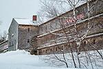 The Big Chicken Barn in Ellsworth, Maine, USA