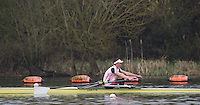 Caversham. Berkshire. UK<br /> Rowan LAW.<br /> 2016 GBRowing U23 Trials at the GBRowing Training base near Reading, Berkshire.<br /> <br /> Monday  11/04/2016 <br /> <br /> [Mandatory Credit; Peter SPURRIER/Intersport-images]