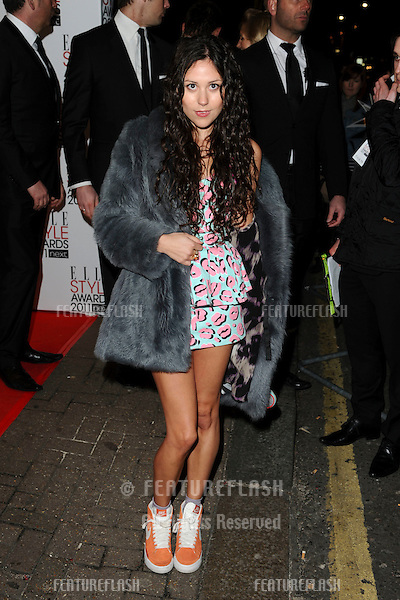 Eliza Doolittle at the Elle Style Awards 2011 at the Grand Conaught Rooms, Covent Garden, London. 14/02/2011  Picture by: Steve Vas / Featureflash