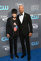 Diane Warren &amp; Common at the 23rd Annual Critics' Choice Awards at Barker Hangar, Santa Monica, USA 11 Jan. 2018<br /> Picture: Paul Smith/Featureflash/SilverHub 0208 004 5359 sales@silverhubmedia.com