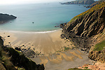 La Grande Greve beach, Island of Sark, Channel Islands, Great Britain