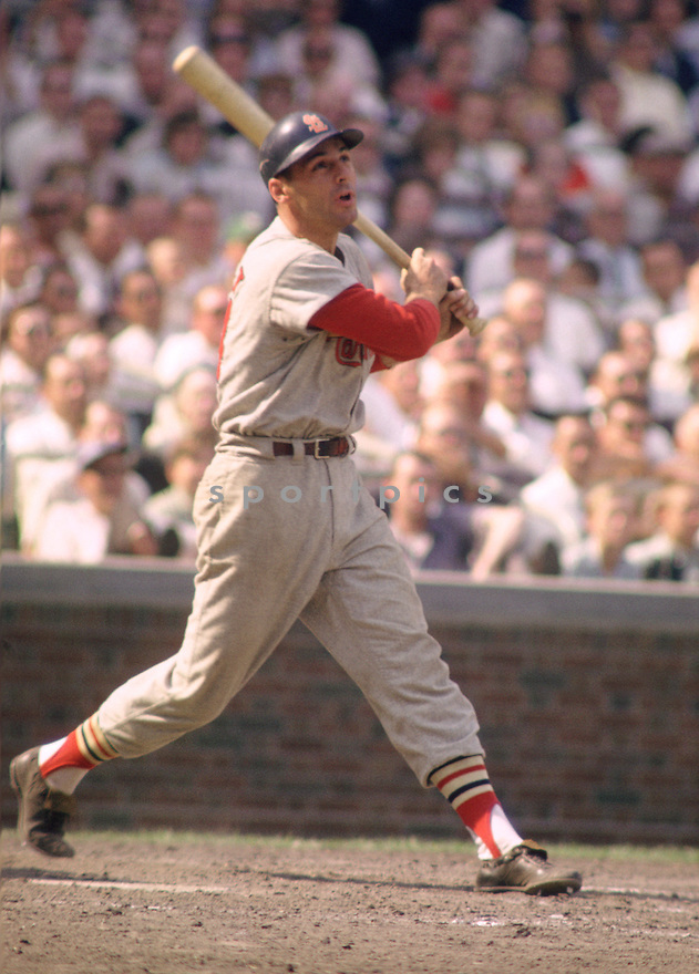 St. Louis Dick Groat (24) during a game from his career with the Cardinals at Wrigley Field in Chicago, IL. Dick Groat  played for 14 season with 4 different teams, was a 5-time All-Star and National League MVP in 1960.(SportPics)