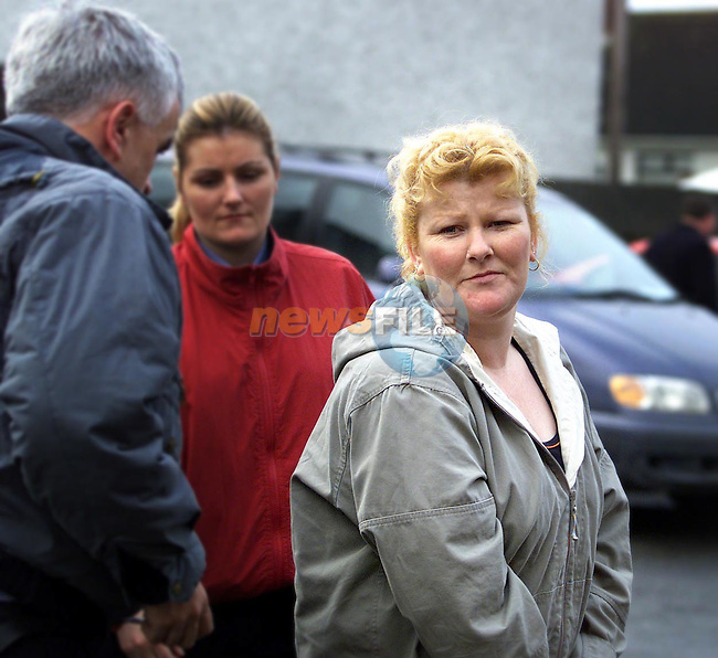 Alice Gavin (right) arriving at Drogheda District Court. She swallowed a diamond ring in a Bernard English's Jewellers shop.Picture: Paul Mohan/Newsfile