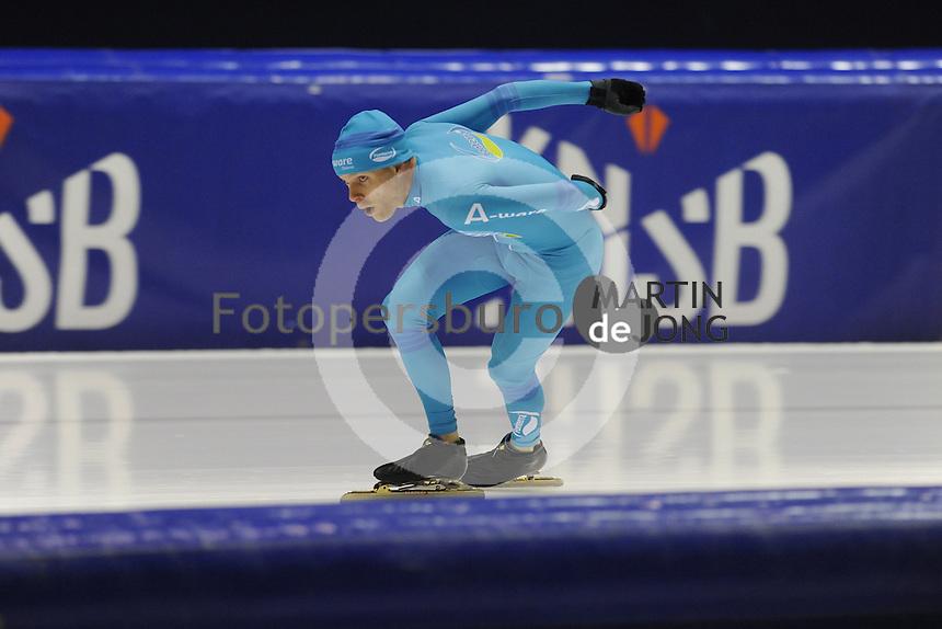 SCHAATSEN: HEERENVEEN: 02-10-2014, IJsstadion Thialf, Arjan Stroetinga, Topsporttraining, ©foto Martin de Jong