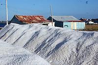 Mina de Sal, extracion de sal en la ciudad de Bani en la zona de salina..Santo Domingo - Republica Dominicana.Foto: © Cesar de la Cruz.03/04/2005