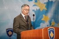 Jakup Krasniki, former President of Kosovo  (here 2008) allora Presidente del Parlamento