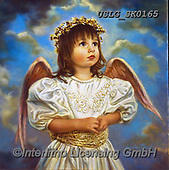 CHILDREN, KINDER, NIÑOS, paintings+++++,USLGSK0165,#K#, EVERYDAY ,Sandra Kock, victorian ,angels