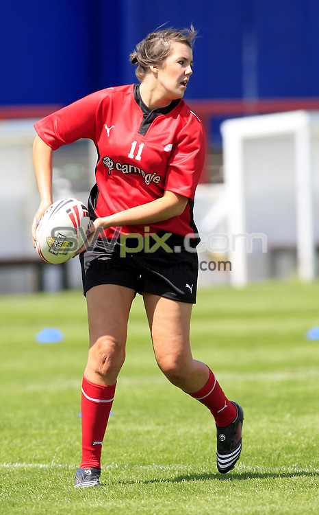 Pix: Chris Mangnall/SWpix.com, Women's Rugby League, Carnegie Super 4 @ Hearwell Stadium Wakefield 14/06/09 ....picture copyright>>Simon Wilkinson>>07811267 706>>.... Firebirds