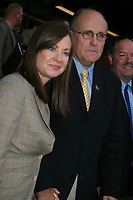 New York City<br /> <br /> 2004 <br /> RUDOLPH GIULIANI AND JUDY NATHAN<br /> Photo By John Barrett-PHOTOlink.net<br /> /MediaPunch
