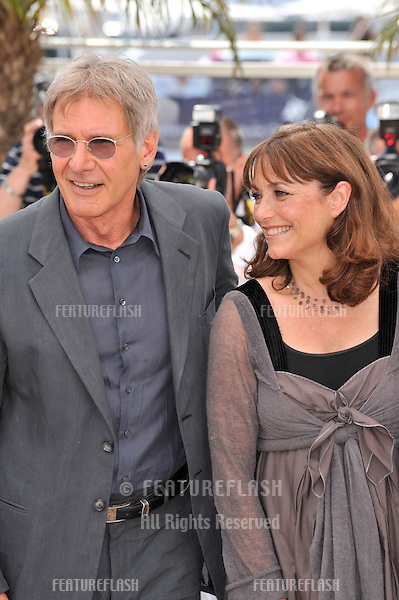 "Harrison Ford & Karen Allen at photocall for their new movie ""Indiana Jones and the Kingdom of the Crystal Skull"" at the 61st Annual International Film Festival de Cannes..May 18, 2008  Cannes, France..Picture: Paul Smith / Featureflash"