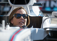 CLAIRE WILLIAMS (Deputy Team Principal) of Williams Martini Racing during The Formula 1 2018 Rolex British Grand Prix at Silverstone Circuit, Northampton, England on 8 July 2018. Photo by Vince  Mignott.