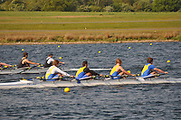 Wallingford Rowing Club Regatta 2011. Dorney..(J18A.4x-).Peterborough City (391) .Eton College (392)