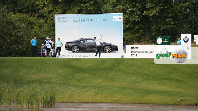 View towards the 16th tee during Round Two of the BMW International Open 2014 from Golf Club Gut Lärchenhof, Pulheim, Köln, Germany. Picture:  David Lloyd / www.golffile.ie
