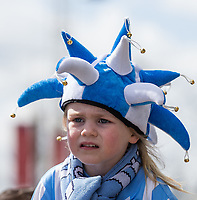 Coventry City supporter before the The Checkatrade Trophy / EFL Trophy FINAL match between Oxford United and Coventry City at Wembley Stadium, London, England on 2 April 2017. Photo by Andy Rowland.