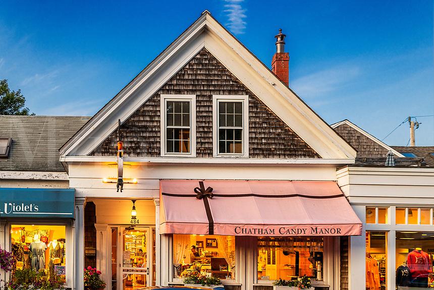 Candy Manor, Chatham, Cape Cod, Massachusetts, USA.
