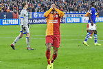 06.11.2018, Veltins-Arena, Gelsenkirchen, GER, CL, FC Schalke 04 vs Galatasaray Istanbul, DFL regulations prohibit any use of photographs as image sequences and/or quasi-video <br /> <br /> im Bild Strafraumszene verpasste Torchance von Garry Rodrigues (#7, Galatasaray) <br /> <br /> Foto &copy; nordphoto/Mauelshagen
